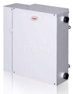 Газовий котел Dani Parapet Standart АКГВ С 12 кВт (лівий)